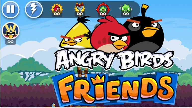 Angry Birds Friends секрет взлома