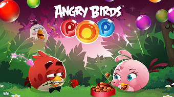 Взлом Angry birds POP bubble shooter