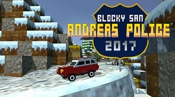 Взлом Blocky San Andreas Полиция SIM