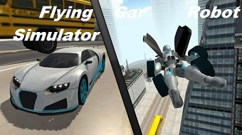 Взлом Flying Car Robot Simulator