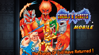 Взлом Ghouls'n Ghosts MOBILE