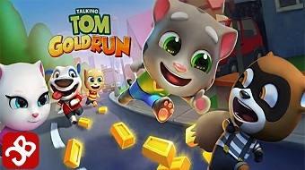 Взлом Talking Tom Gold Run